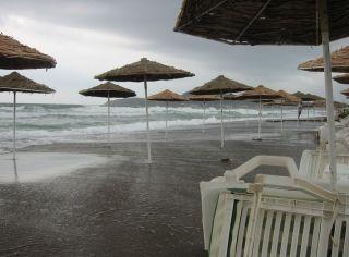 kein Strandwetter