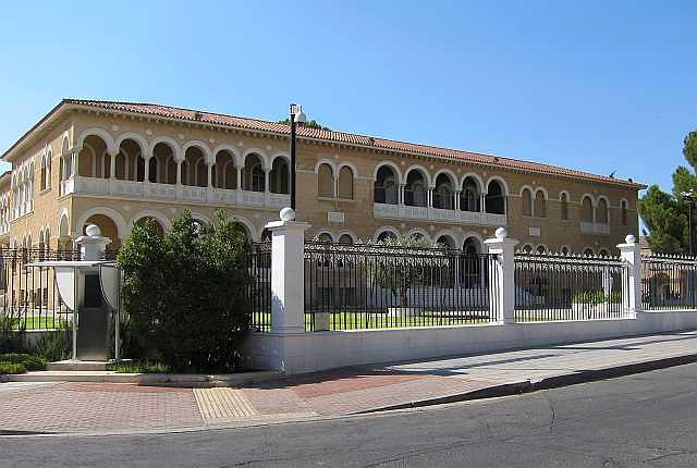 Sitz des Bischofs