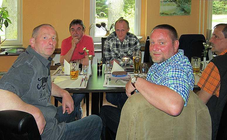 Detlef, Hansi, Gerd, Frank, Edgar
