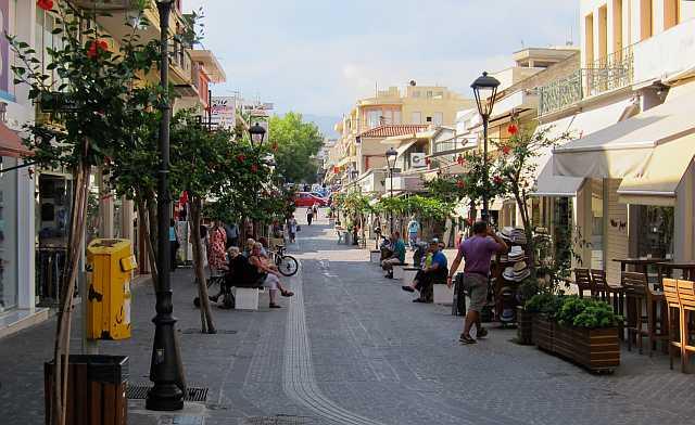 Chania Straße