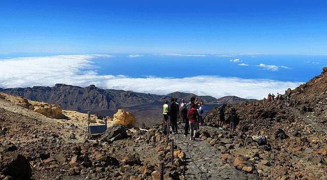 Blick vom Teide westlich